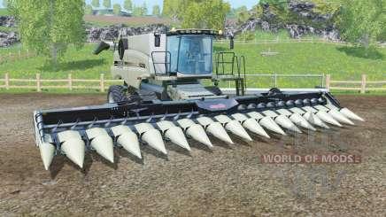 Case IH Axial-Flow 9230 with headers для Farming Simulator 2015