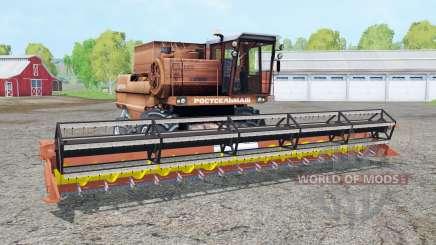 Дон-1500А с жатками для Farming Simulator 2015