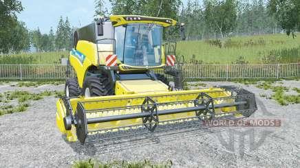 New Holland CR6.90 low compaction tires для Farming Simulator 2015