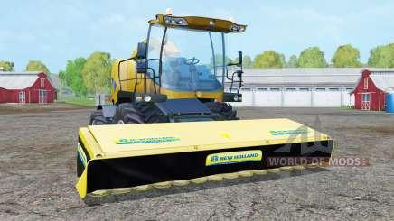 New Holland FR9090 deep lemon для Farming Simulator 2015