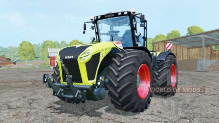 Claas Xerion 5000 Trac VC bitter lemon для Farming Simulator 2015