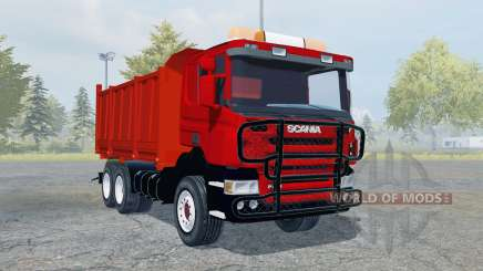 Scania P420 tipper для Farming Simulator 2013