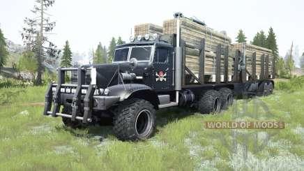 КрАЗ-255Б1 кастомный для MudRunner