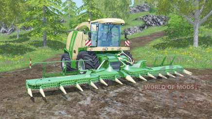 Krone BiG X 1100 animated joystick для Farming Simulator 2015