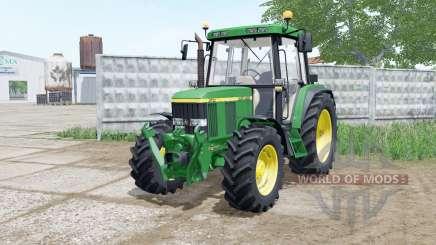 John Deere 6000 для Farming Simulator 2017