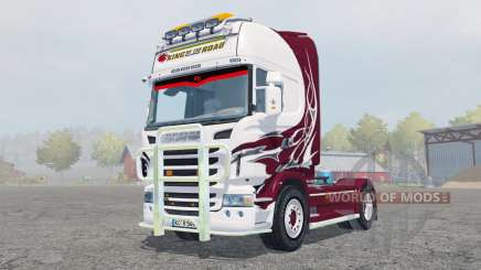 Scania R560 Topline antique ruby для Farming Simulator 2013