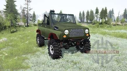 УАЗ-469 ТР-2 для MudRunner