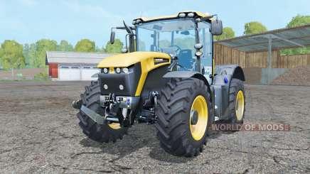 JCB Fastrac 4190 front loader для Farming Simulator 2015