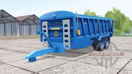 Marshall QM-16 french blue для Farming Simulator 2017