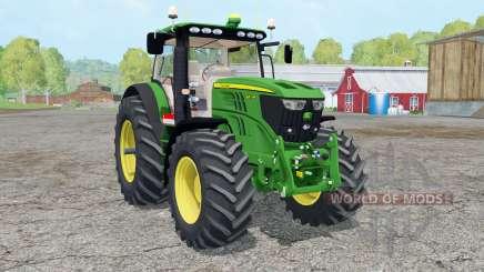 John Deere 6210Ɽ для Farming Simulator 2015