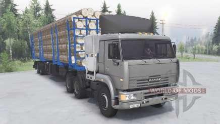 КамАЗ-6460 6x4 для Spin Tires