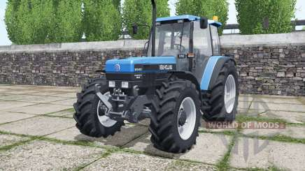 New Hollanɗ 8340 для Farming Simulator 2017