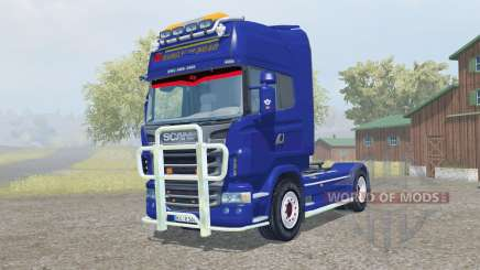 Scania R560 Topline pigment blue для Farming Simulator 2013