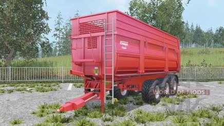 Krampe Big Body 900 S increased capacity для Farming Simulator 2015
