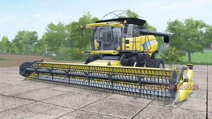 New Holland CR9070 dual front wheels для Farming Simulator 2017