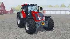 Valtra N163 rosso corsa для Farming Simulator 2013