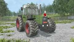 Fendt Favorit 611 LSA Turbomatik E black smoke для Farming Simulator 2015