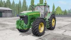 John Deere 8520 2002 для Farming Simulator 2017