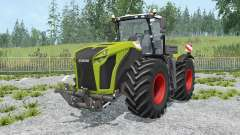 Claas Xerion 5000 Trac VC change wheels для Farming Simulator 2015