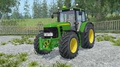 John Deere 6930 Premium front loadeᶉ для Farming Simulator 2015