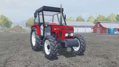 Zetor 7340 tractor red для Farming Simulator 2013