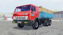 КамАЗ-53212 ярко-красный окрас для Farming Simulator 2013