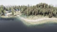 Затопленный лес 3 для MudRunner