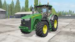 John Deere 8230-8370R для Farming Simulator 2017