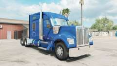 Kenworth W990 Mid-Roof Aerodyne Sleeper для American Truck Simulator