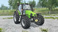 Deutz-Fahr Agrotron 120 MK3 front loadeᶉ для Farming Simulator 2015