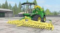 John Deere 8000 Michelin tires для Farming Simulator 2017