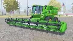 John Deere S690i для Farming Simulator 2013