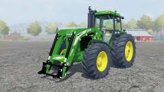 John Deere 4455 fronƫ loader для Farming Simulator 2013