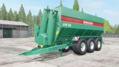 Bergmann GTW 430 wheel color selection для Farming Simulator 2017