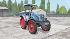 New Holland T5.100-120 2 tire types для Farming Simulator 2017