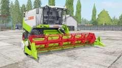 Claas Lexion 530 vivid lime green для Farming Simulator 2017