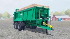 Tebbe HS 180 caribbean green для Farming Simulator 2013