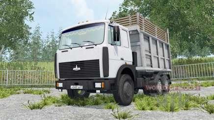 МАЗ-5516 подъём кабины для Farming Simulator 2015