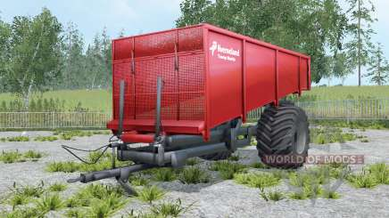 Kverneland Taarup Shuttle coral red для Farming Simulator 2015