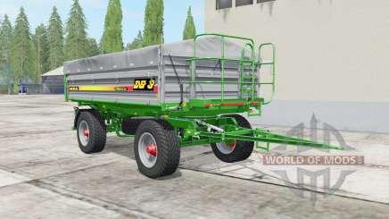 Metaltech DB 8 bombay для Farming Simulator 2017