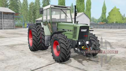 Fendt Farmer 300 LSA Turbomatik wheels selection для Farming Simulator 2017