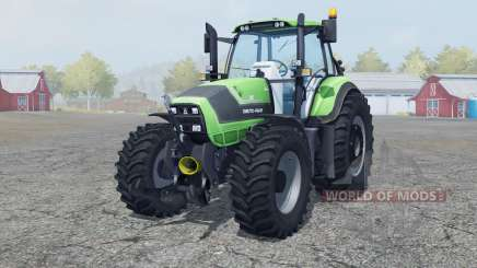 Deutz-Fahr Agrotron TTV 6190 new wheel rims для Farming Simulator 2013