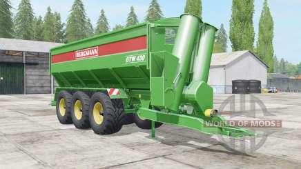 Bergmann GTW 430 all loaded для Farming Simulator 2017