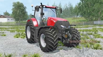 Case IH Optum 300 CVX light brilliant red для Farming Simulator 2015
