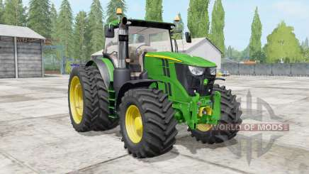 John Deere 6R для Farming Simulator 2017