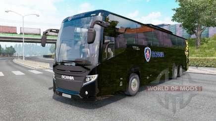 Scania Touring K410 black для Euro Truck Simulator 2