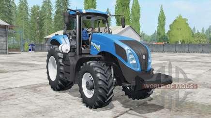 New Holland T8.300 для Farming Simulator 2017