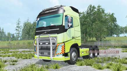 Volvo FH16 600 Globetrotter 2014 для Farming Simulator 2015