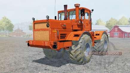 Кировец К-700А ярко-оранжевый окрас для Farming Simulator 2013