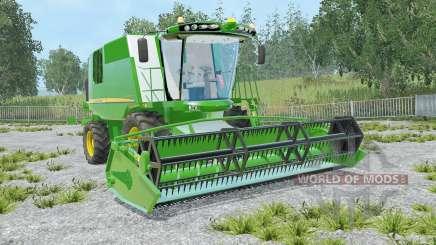 John Deere W540 lime green для Farming Simulator 2015